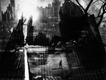 New York Gutter BY V B