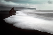The Black Beach by Liloni	Luca