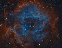 Rosette Nebula by Martin Heigan