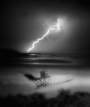 Lightning Kenton on Sea by Shayne Minott