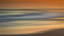 Sunset Colours if the Sea by Charmaine Joubert