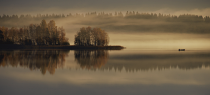 Early Autumn Morning By Pekka Ilari T