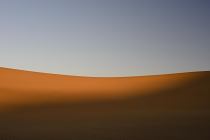 Shadow and Sun Dune Ridge, Swakopmund by Martin Zimelka