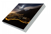 Cape Town supermoon Prem Canvas