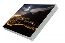 Cape Town supermoon Prem Canvas