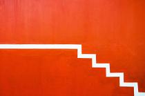 orange abstract by Martha Van Der Westhuizen