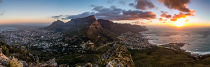 Table Mountain Pano by Gideon Heller