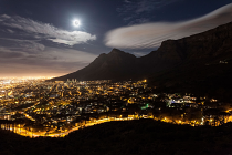 Cape Town supermoon
