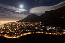 Cape Town supermoon