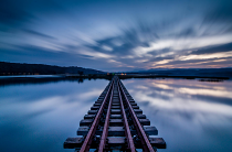 Slow Trainbridge by Brendan Wilbraham