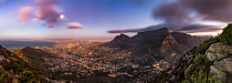 CT from Lions Head at sunset by Gideon Heller