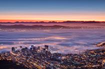Misty Cape Town