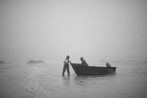 Fishermen Boat by Martin Zimelka